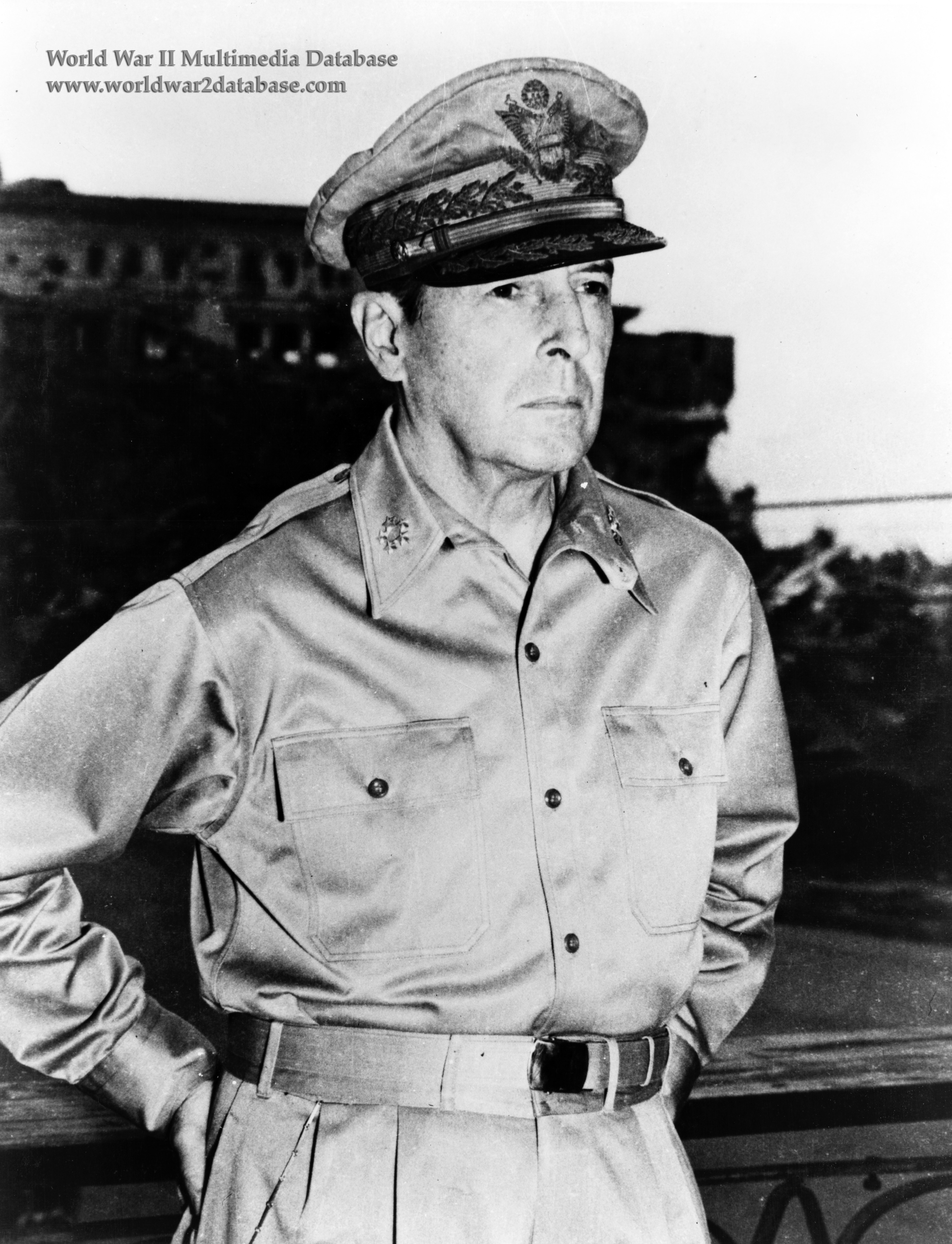 douglas macarthur 2 essay General douglas macarthur left his hotel to go to the us military academy at west point to accept the sylvanus thayer medal duty, honor, country.