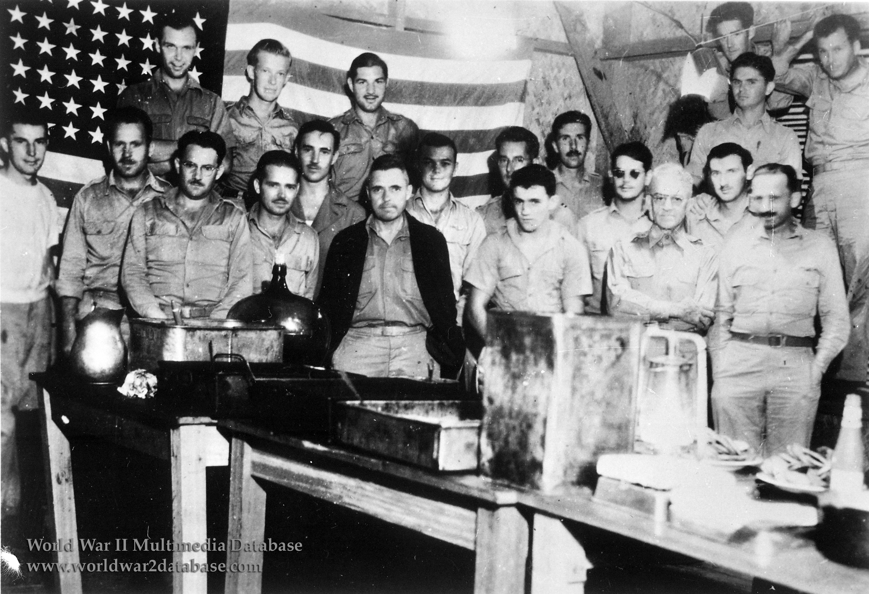 American Prisoners Of War Celebrate The Fourth Of July At