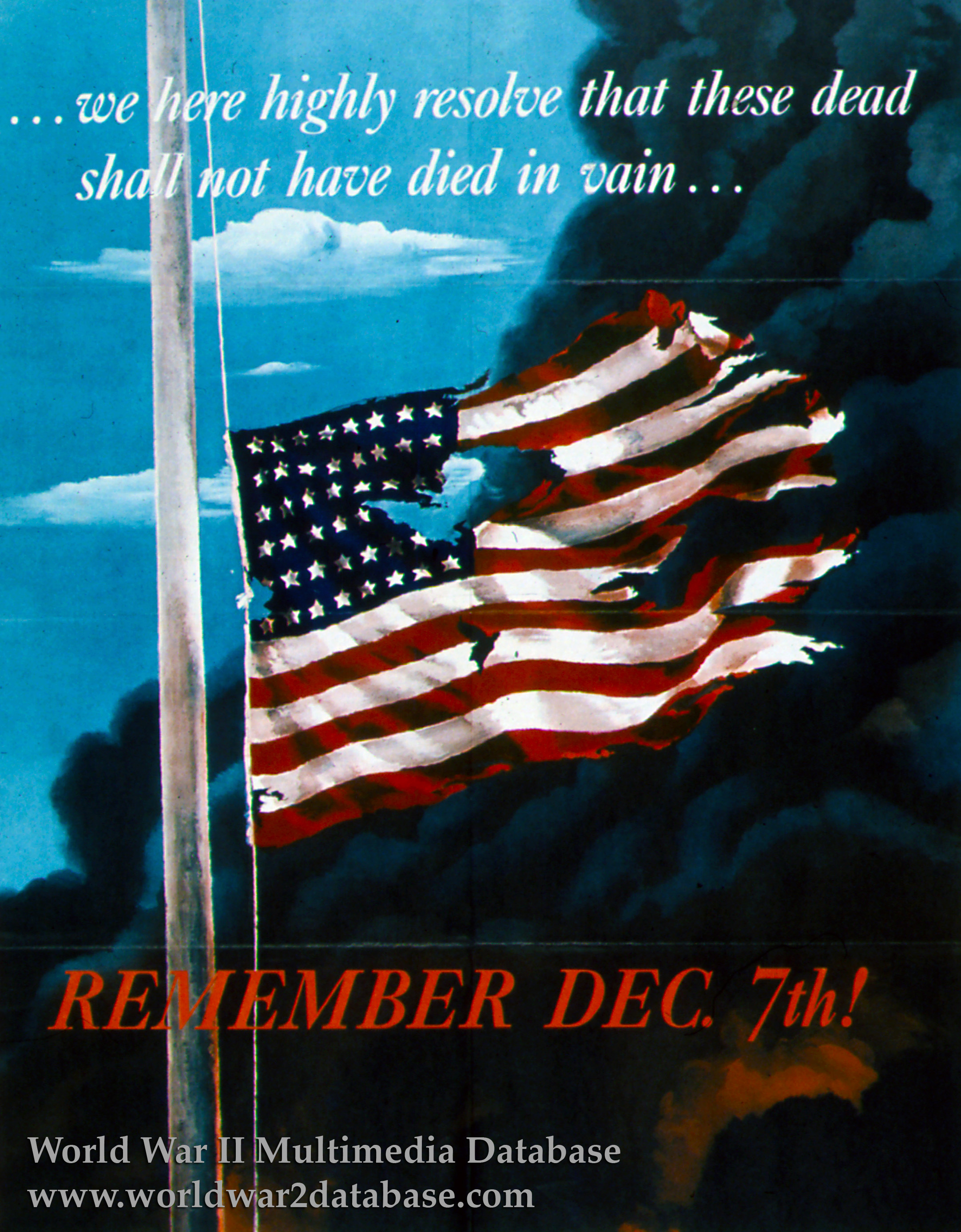 Remember Dec 7th The World War Ii Multimedia Database