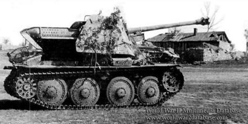 Marder Iii Ausf H The World War Ii Multimedia Database