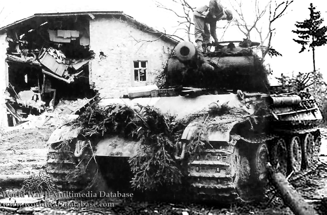 Image result for panther tank the ardennes