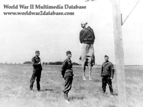 Three Germans Attend a Soviet Woman's Execution By Hanging